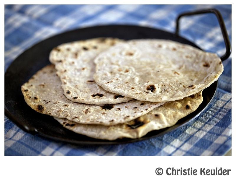 Chapati bread flour