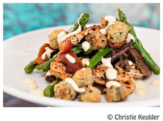cajun chicken salad dressing okra