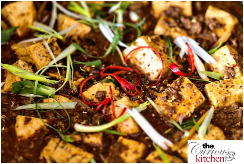 Spicy Beef and Tofu with Sichuan Peppercorn