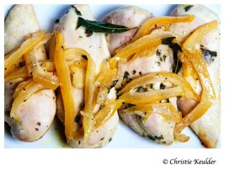 Chicken Breasts with Preserved Lemon. PHOTO: CHRISTIE KEULDER